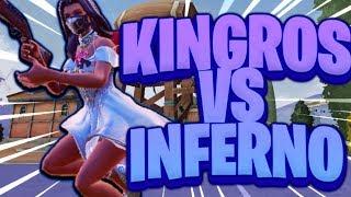 Kingros vs Inferno The Bot (Creative Destruction)