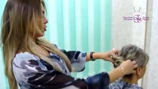 Плетение волос (кос), прически на длинные волосы в домашних условиях(Видео мастер-класс Хозяйки салона красоты - парикмахерской