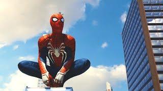 Marvel's Spider Man (PS4) - Walkthrough Part 1 LIVE