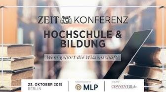 11. ZEIT KONFERENZ Hochschule & Bildung 2019