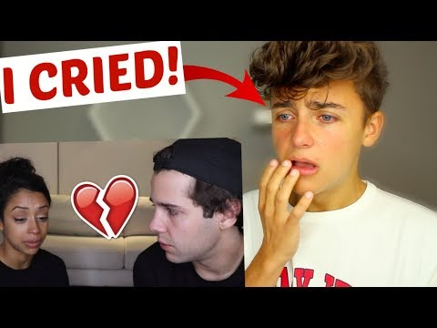 David and Liza  we broke up  EXTREME Fan Reaction!