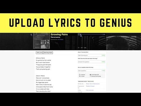 How to Add Song Lyrics to Genius | Why You Should Upload Lyrics On Genius