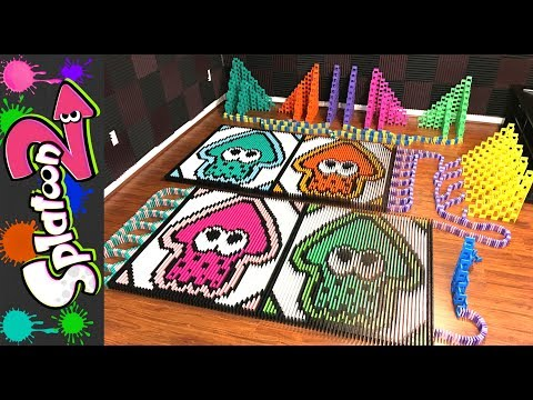 Thumbnail: Splatoon 2 (IN 65,556 DOMINOES!)