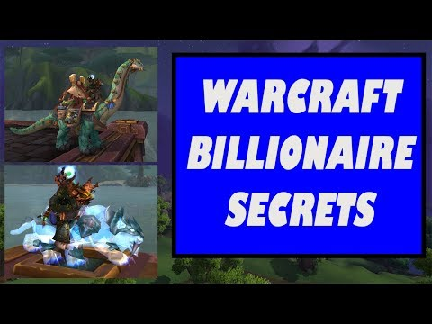 How the Richest Players in WoW Make Their Gold | BFA Gold Making