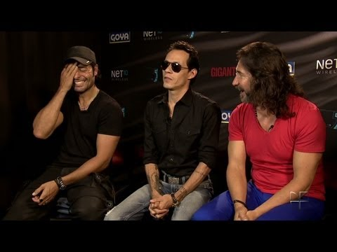 Univision News - Marc Anthony, Chayanne and Marco Antonio So