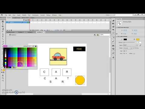 Adobe Fash CS6 Bassic Tutorial - Myhiton