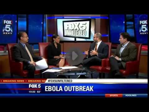 FOX5 Interview with Dr. Jay P. Singh about Ebola