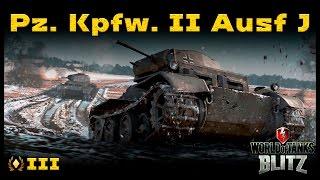Обзор Pz. Kpfw. II Ausf. J - Ни себе, ни людям [WoT: Blitz]