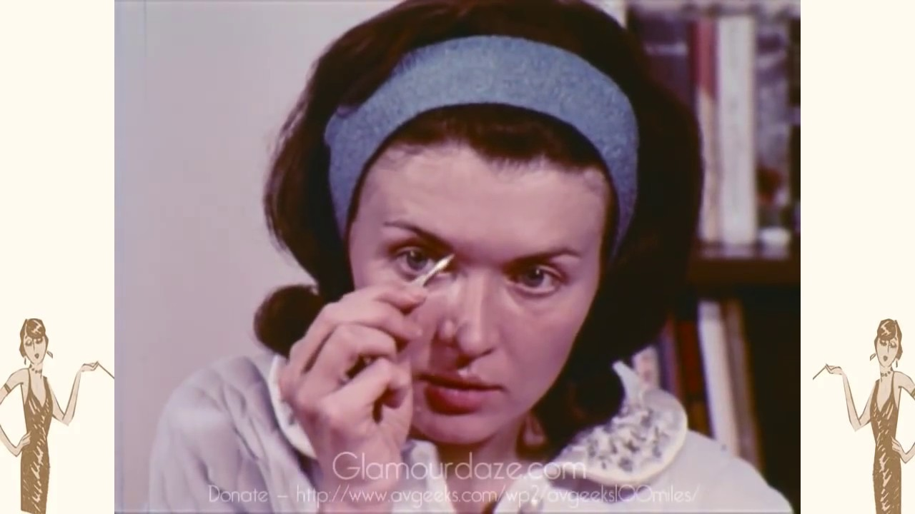vintage 1960s makeup tutorial film youtube