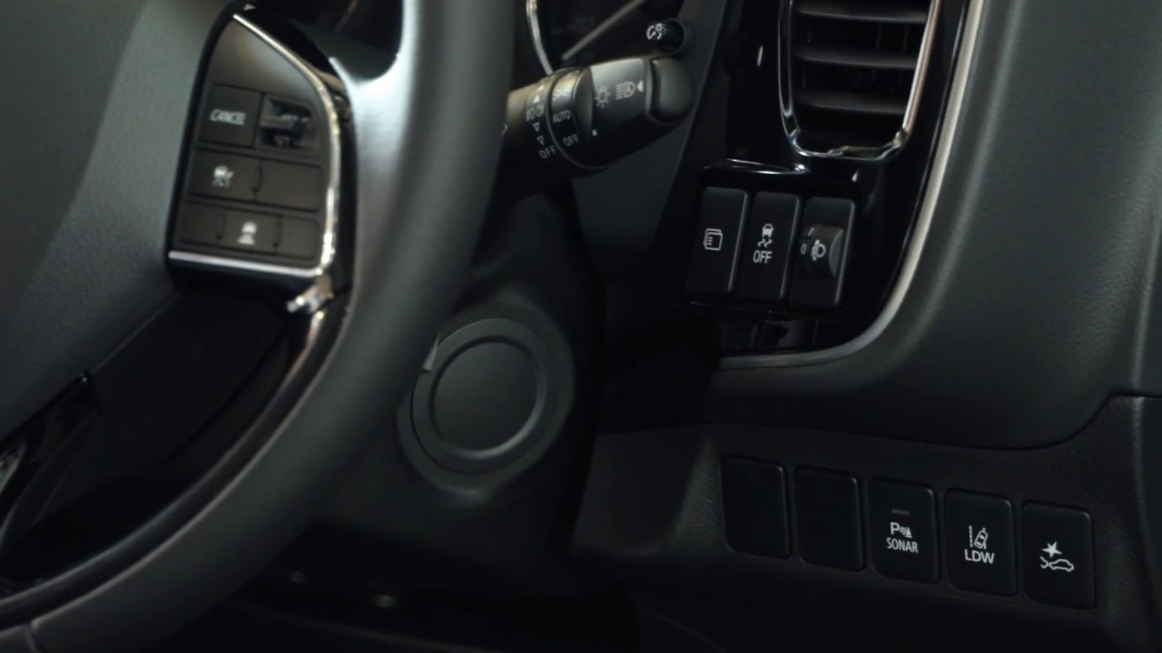Mitsubishi Outlander Phev >> Mitsubishi Outlander Walk Through - 4   Controls On the ...
