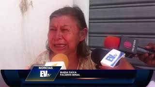 Pacientes renales se solidarizan con enfermeras y no recibieron tratamiento- Noticias EVTV 08/21/19