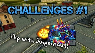 Challenges #1 | Kill Jug with EVERY TURRET! | Flip with Juggernaut! | Tanki Online - танки Онлайн