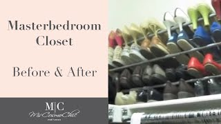 Master Bedroom Closet Cleanup And Clean-out | Mscosmochic
