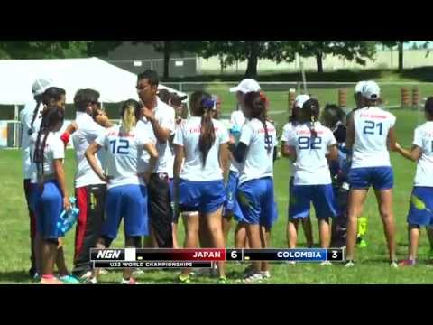 2013 U23 World Championships - Japan vs Colombia - Pool Play (W)
