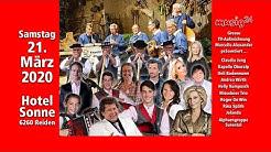 TV AUFZEICHNUNG SONNE REIDEN 2020