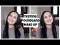 Testing Poundland Make Up