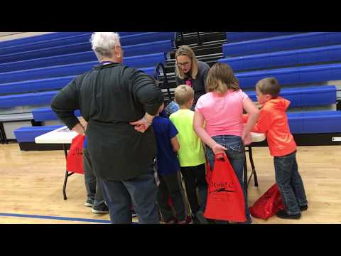 Ralls County Elementary School students check out career fair