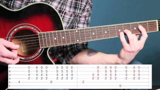 Learn How To Play Crash (Into Me) by Dave Matthews Band on Guitar (Lesson Video)