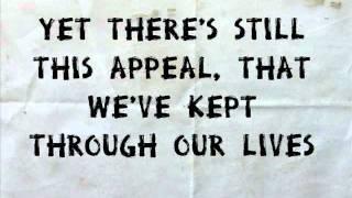 Love will tear us apart - Joy Division (Lyrics)