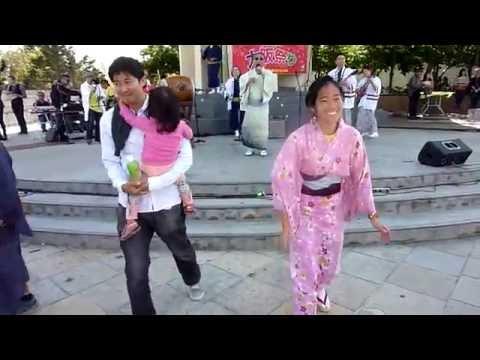 """YamashoKai """" Kawachi Ondo""""at Osaka Matsuri"""