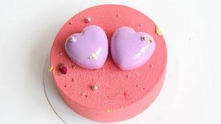 Муссовый торт 💗ВАЛЕНТИНКА💗 шоколадный велюр