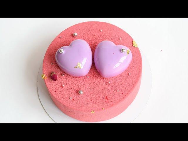Изображение Муссовый торт 💗ВАЛЕНТИНКА💗 шоколадный велюр