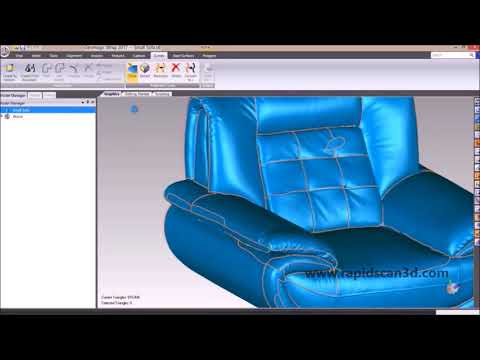 Utilizing Geomagic Wrap on 3D Scan Data - YouTube