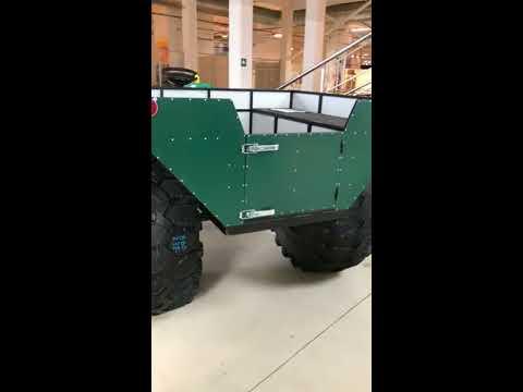 Вездеход ВЕПРЬ V5 вариатор, на колесах КРАЗ шестерня