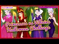 Princesses vs Villains Halloween Challenge- Fun Online Fashion Games for Girls Teens