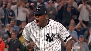 CLE@NYY Gm4: Severino K's nine in strong outing