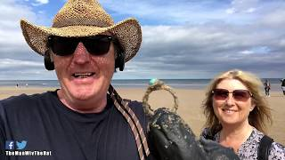 Could YOU beat a 4 year old with her toy metal detector?