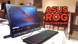 ASUS ROG MotherShip UNBOXING and hands on REVIEW with BENCHMARKS