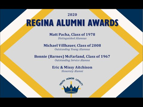 2020 REGINA ALUMNI AWARDS