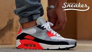 An On Foot Look At The Nike Air Max 90 Ultra Breeze