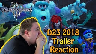 Kingdom Hearts III D23 2018 Trailer REACTION!