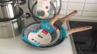 обзор набора индукционной посуды Базовый