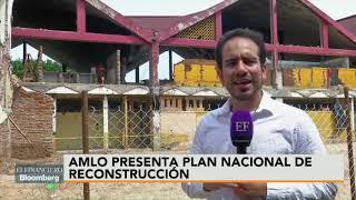 En Juchitán de Zaragoza, AMLO presenta Plan Nacional de Reconstrucción