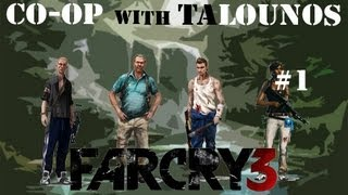 Far Cry 3 Co-op Walkthrough Part 1....Split Screen is fun.../All Game Studio/