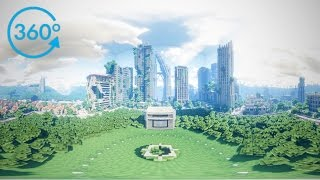 Minecraft In 360º VR – 8K | Cinematic Clip | SEUS V11 Modified | Past Life Pro