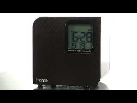 how to set ihome clock ih4b