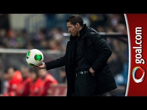 Simeone pleased with lead after action packed first leg