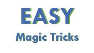 Easy Magic Tricks: Learn how to do magic tricks with cards
