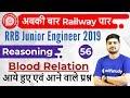 10:30 AM - RRB JE 2019   Reasoning Hitesh Sir   Blood Relation