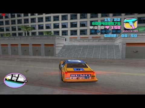 GTA:VC. Mis 59 (12): Vice Street Racer (Đua xe) (Hoàn thành 99% tiến trình game)