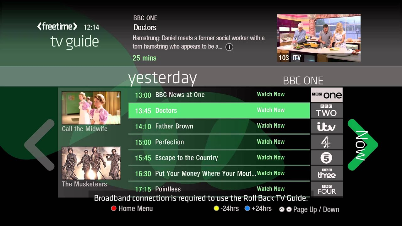 Freetime The Smart Tv Guide From Freesat Now Available In New