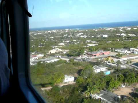 SXM to AXA Winair 251 - Landing at The Valley - Anguilla - 04/13/09