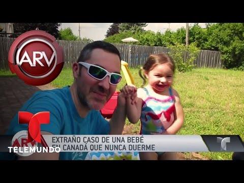 Niña con extraña condición nunca duerme | Al Rojo Vivo | Telemundo