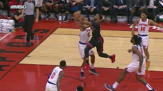 Knicks Can't Contain Raptors Offense: Highlights & Analysis