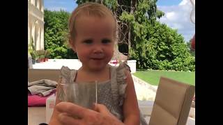 Funny Baby trying Coca-Cola