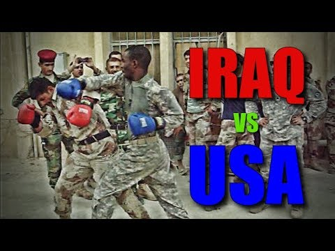 Iraq Vs Us Boxing Bout 8